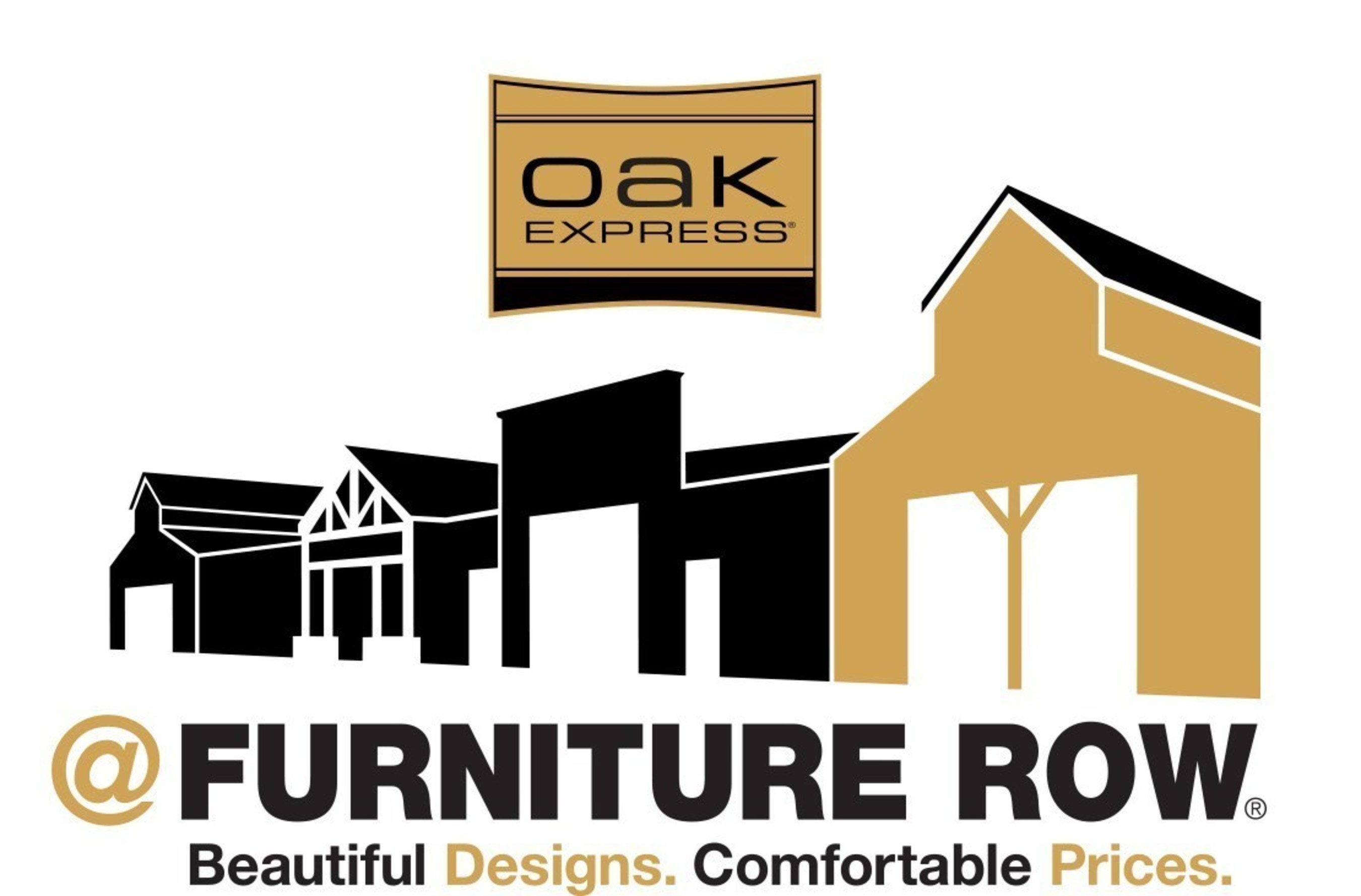 Oak Express @ Furniture Row.  Beautiful Designs.  Comfortable Prices.