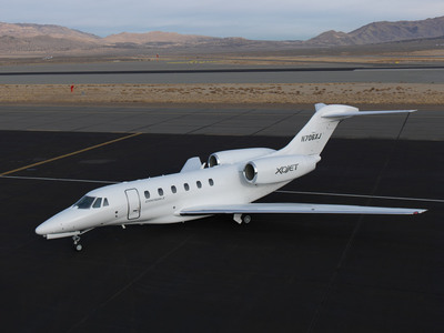 XOJET Citation X.  (PRNewsFoto/XOJET)