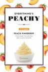 Pinkberry Sweetens Up the Menu with Return of Peach Frozen Yogurt