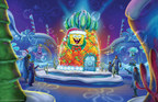 Moody Gardens and Nickelodeon reveal first glimpse at ICE LAND: Ice Sculptures with SpongeBob SquarePants. Master ice carvers from Harbin, China will create towering ice sculptures from 900 tons of ice to open Nov.15 in Galveston, Texas. Watch them create at www.moodygardens.com/icelandwebcam/ (PRNewsFoto/Moody Gardens)