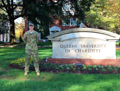 Air Force veteran and Queens student Chris Rolph.