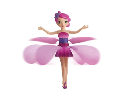 Action and role play toys are set to make a massive comeback as Christmas favourites against previous year's tablet phenomenon. Flutterbye Flying Fairy appears on the Toys R Us UK Terrific Twenty Christmas List 2013, The spinning fairy lifts into flight with the touch of a button and is guided through the air by the hands of little ones. (PRNewsFoto/Toys R Us)