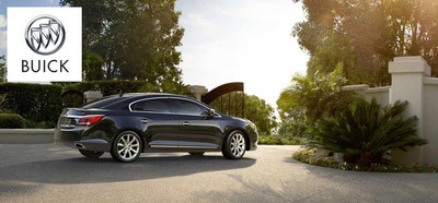 The 2014 Buick LaCrosse pulls ahead of the 2014 Toyota Avalon using more engine options than its competitor. (PRNewsFoto/Cavender Buick GMC West)