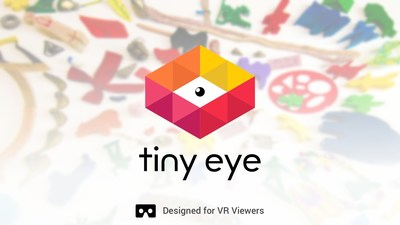 Tiny Eye, a VR app for everyone that can be played with or without a headset. Made by Yeti LLC.