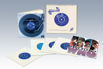 """The Who """"The Reaction Singles 1966"""" vinyl box set released August 14, 2015"""