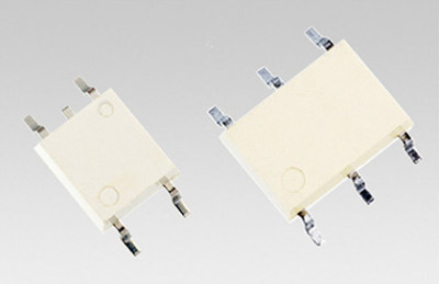 Toshiba's new high-current control photorelays are housed in small, space-saving (2.54SOP4, 2.54SOP6) packages.