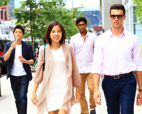 Team Locket: Manhattan mobile advertising startup founded by Yunha Kim, Christopher Crawford, Paul Jang and ...