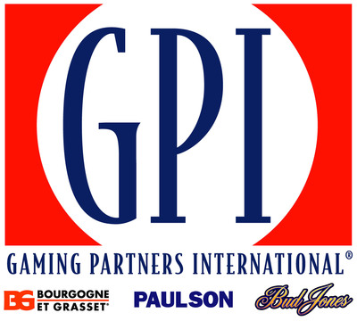 Gaming Partners International Corporation logo. (PRNewsFoto/Gaming Partners International Corporation; Progressive Gaming)
