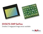 OmniVision's OV5675 is the smallest 5-megapixel image sensor currently available.