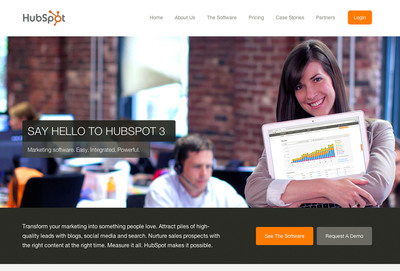 HubSpot 3 Launches - For the Love of Marketing.  (PRNewsFoto/HubSpot)