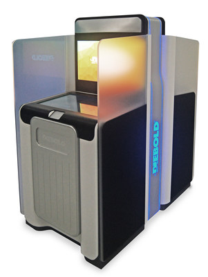 Diebold, Incorporated's dual-sided self-service Janus concept.