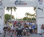 Wings for Life World Run ambassador Eric LeGrand joins runners at the starting line on May 3, 2015 in Sunrise, Fla.  The next run is confirmed for May 8, 2016, with all proceeds dedicated to spinal cord injury research.