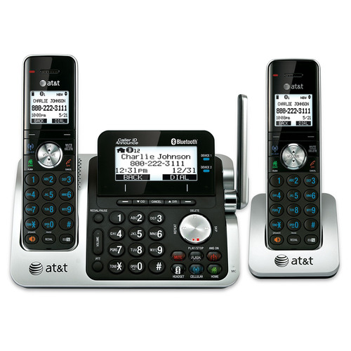 The AT&T TL96271 Connect to Cell system offers consumers the freedom of making and receiving cellular calls through a home phone system to help mitigate the problems of poor cellular call clarity and dropped calls typically associated with cellular phone use at home.  (PRNewsFoto/Advanced American Telephones)