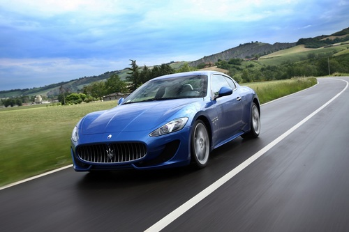 Hertz expands its Dream Collection in Europe adding the stunning Maserati GranTurismo, Mercedes C 63 AMG Coupe, Bentley Continental Flying Spur Speed and BMW 6 Series Convertible to the range. (PRNewsFoto/The Hertz Corporation)