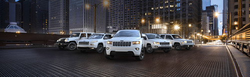 2014 Jeep lineup of Altitude special-edition models.  (PRNewsFoto/Chrysler Group LLC)