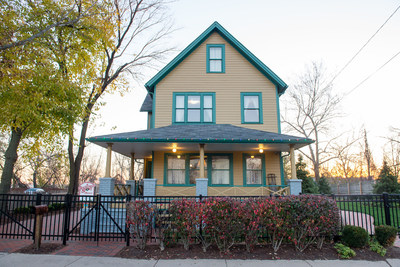 A Christmas Story House, now restored to its movie splendor, is open year round to the public for tours. Guests can view the newly acquired BB gun in the official Christmas Story Museum, located directly across the street from the house.