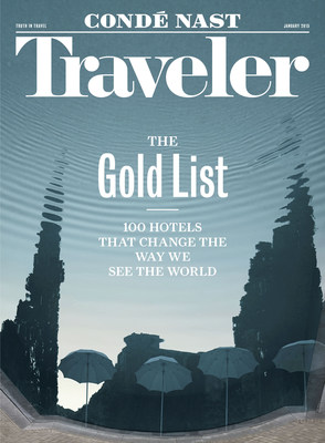 January 2015 Conde Nast Traveler