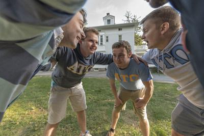 Hillsdale College's Alpha Tau Omega men's fraternity named National True Merit Chapter.