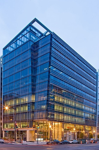 1050 K Street, the LEED Gold jewel-box design by Hickok Cole developed by The Lenkin Company and The Tower ...