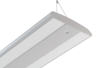 The new Amerlux Stellina shown with integrated Enlighted Smart Sensor
