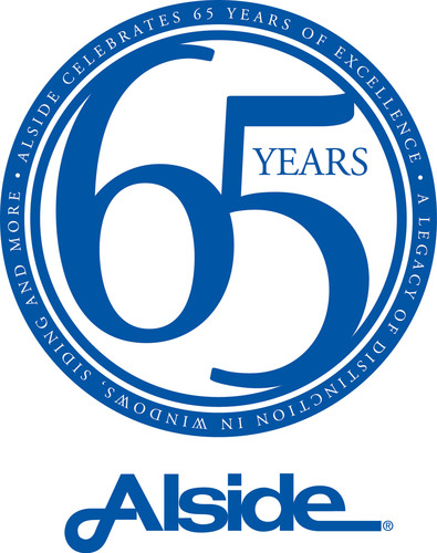 Alside Celebrates 65 Years of Excellence.  (PRNewsFoto/Alside)