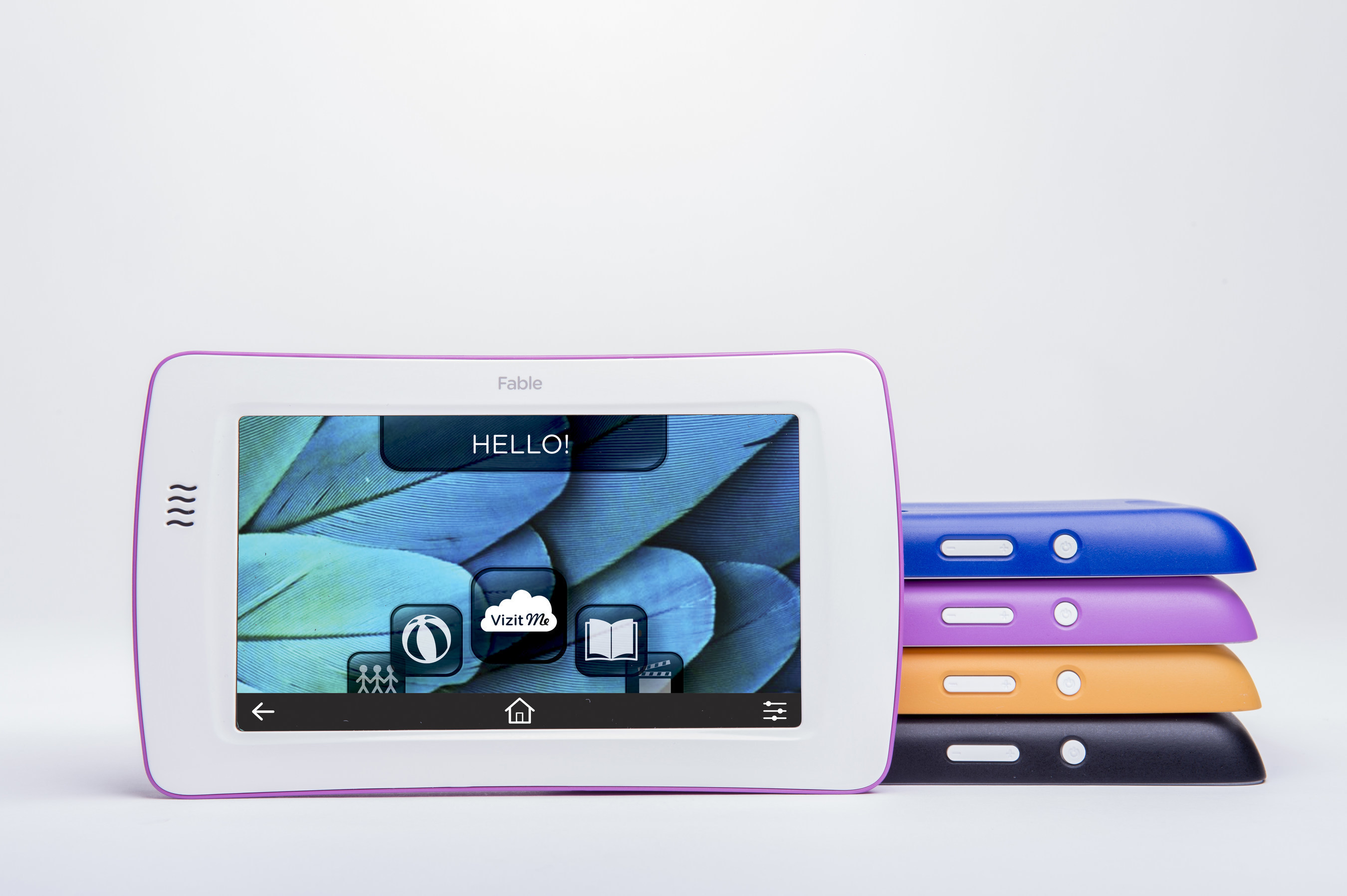 The new, browser-free Fable tablet exclusively for children allows youngsters to learn, create and share from a collection of digital content including books, apps, games, videos and projects.