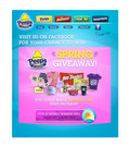 ENTER THE PEEPS & COMPANY(R) Spring Giveaway on Facebook.  (PRNewsFoto/PEEPS & COMPANY)