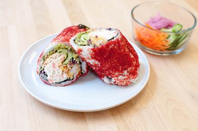 The Sumo Crunch sushi burrito by Sushirrito