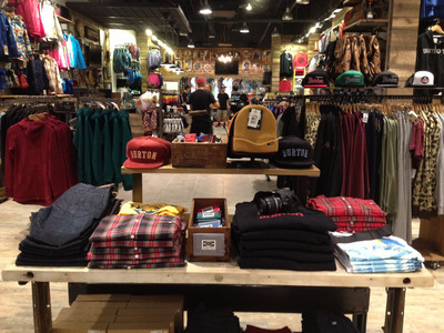 Burton Announces New Partner Stores in DC Metro Area & Northern New Jersey.  (PRNewsFoto/Burton Snowboards)