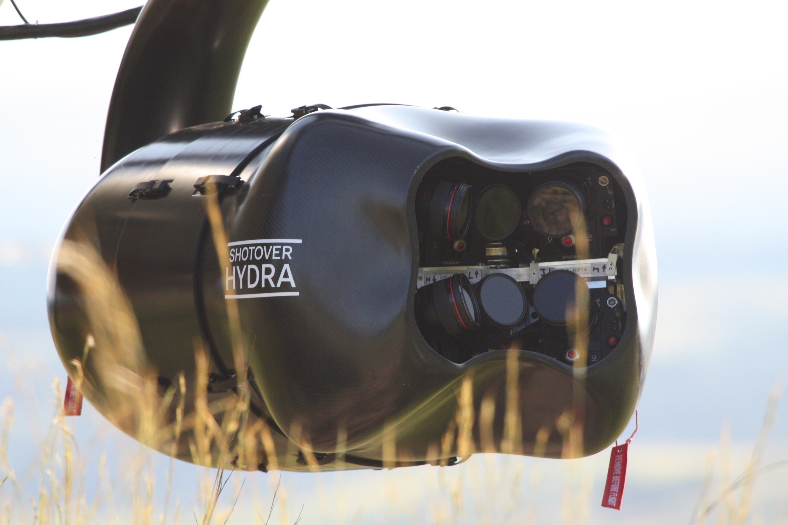 SHOTOVER Hydra, Six Camera, Gyrostabilized Imaging Platform for the Motion Picture Visual Effects Industry. ...
