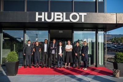 The 8 finalists of the Hublot Design Prize 2016 (PRNewsFoto/Hublot SA)