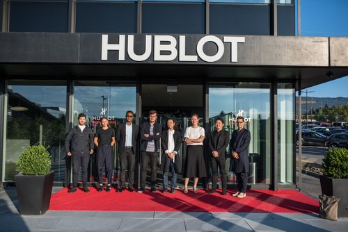 The 8 finalists of the Hublot Design Prize 2016 (PRNewsFoto/Hublot SA)