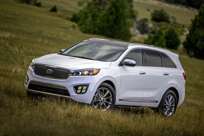 All-new Kia Sorento makes North American debut at Los Angeles Auto Show (PRNewsFoto/Kia Motors America)