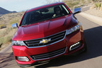 The 2014 Chevy Impala has received some of the best reviews from top critics from USAToday and Consumer Reports. The new outstanding full-size sedan is available at Medved Wheat Ridge.  (PRNewsFoto/Medved Autoplex)