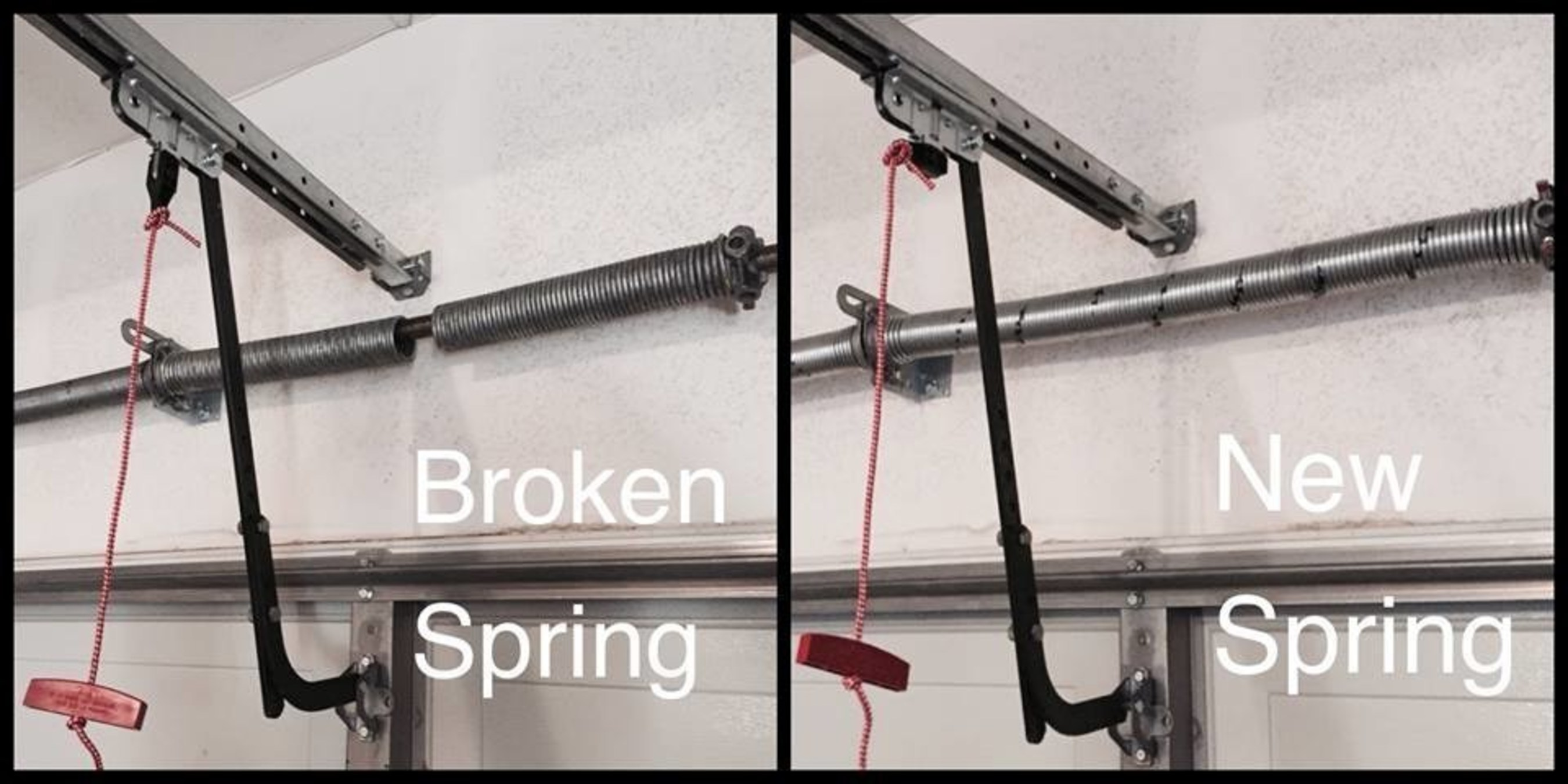 Rockstar Garage Door Services Handles All Broken Spring Repairs