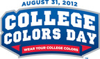 Celebrate College Colors Day on August 31, 2012.  (PRNewsFoto/The Collegiate Licensing Company)