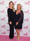 Kate Hudson and CEO of ANN INC, Kay Krill, at BCRF Hot Pink Party.  (PRNewsFoto/Ann Taylor)