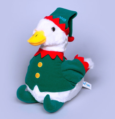 Each year Aflac and Macy's team together to offer a new, festive holiday version of the famous Aflac Duck with all the net proceeds going toward the treatment and research of children's cancer. Get your Holiday Duck at more than 300 participating Macy's or at aflacduckprints.com.