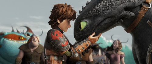 DreamWorks Animation's How to Train Your Dragon 2 soars past the $500 million mark at the global box ...
