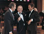 Frank Sinatra orchestrated one of the most surprising and touching moments in television history when he reunited estranged partners Dean Martin and Jerry Lewis on the 1976 Telethon.