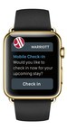 APPLE WATCH IS LATEST PERSONAL DEVICE TO FUEL MARRIOTT INTERNATIONAL'SMOBILE TRAVEL REVOLUTION