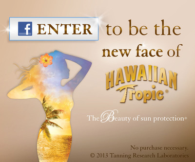 Hawaiian Tropic Cancels Bikini Contest, Launches Search for a New Spokesperson on Facebook.  (PRNewsFoto/Hawaiian Tropic)