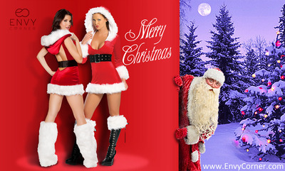 Sexy Christmas Outfits from Envy Corner.  (PRNewsFoto/Envy Corner)