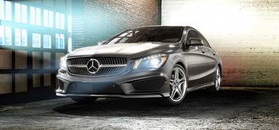 The 2014 Mercedes-Benz CLA250 4MATIC is among the newest models to arrive at Mercedes-Benz of North Haven. (PRNewsFoto/Mercedes-Benz of North Haven) (PRNewsFoto/MERCEDES-BENZ OF NORTH HAVEN)