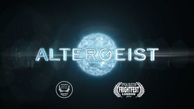 ALTERGEIST, a supernatural thriller writtend and directed by Tedi Sarafian, the writer of Terminator 3 and Tank Girl. (PRNewsFoto/HeckArt Studios)