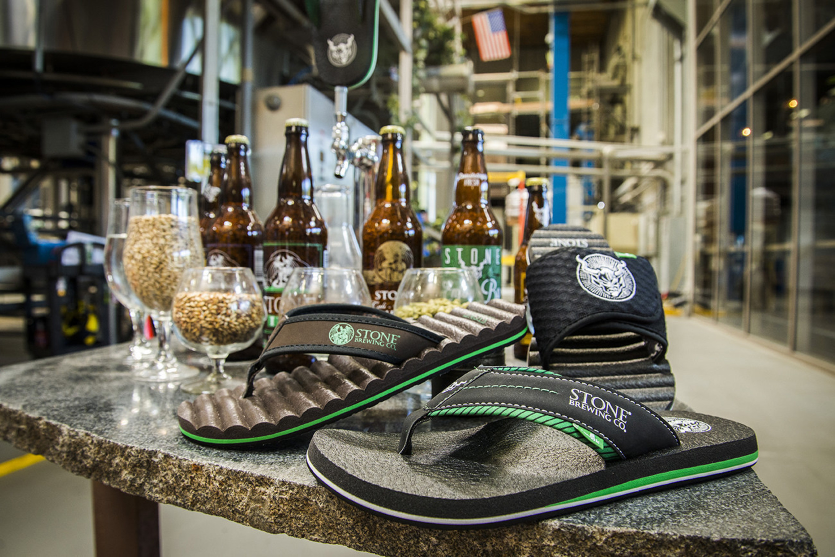 The Sanuk Craft Beer Cozy Sandal Collection Produced in Collaboration with Stone Brewing