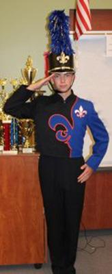 New Uniform.  (PRNewsFoto/Santa Teresa High School Music Department)