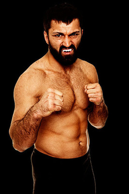 "World Series of Fighting heavyweight main event fighter and former UFC heavyweight champion Andrei ""The Pitbull"" Arlovski.  (PRNewsFoto/World Series of Fighting)"