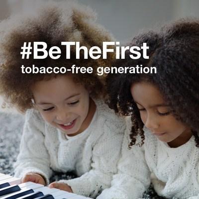 #BeTheFirst tobacco-free generation