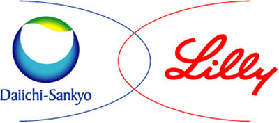 Eli Lilly and Company and Daiichi Sankyo logo.  (PRNewsFoto/Eli Lilly and Company)